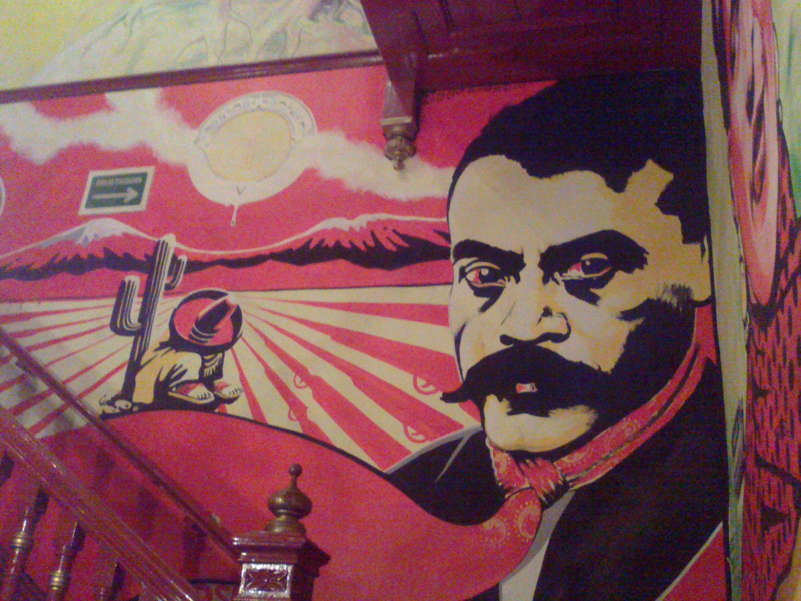 Mural en el Salon Calavera, Centro, CDMX